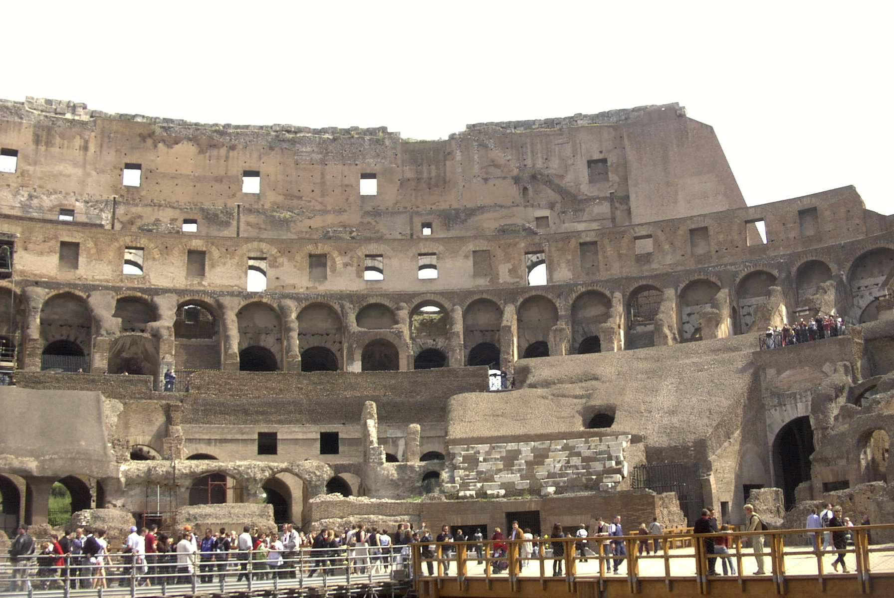 Interior of Colosseo